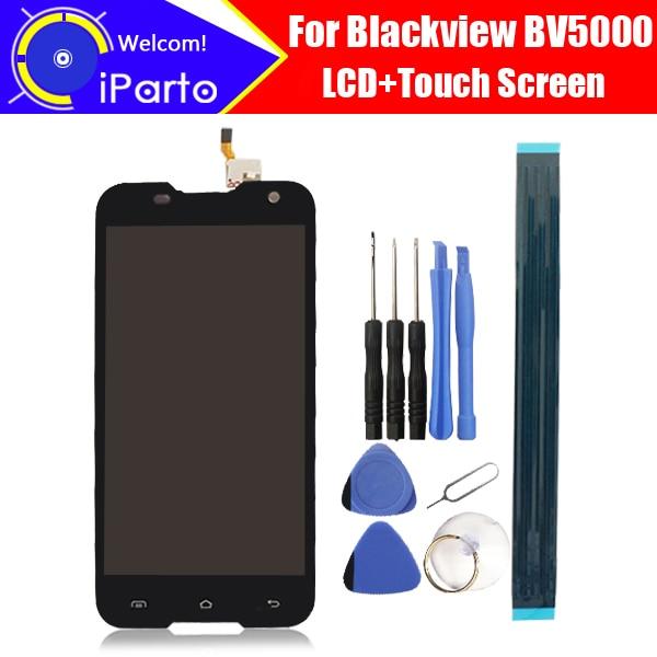 100% D'origine Blackview BV5000 LCD Display + Écran Tactile 1280X720 5.0 pouces Assemblée Pour Blackview BV5000 + outils