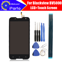 100 Original Blackview BV5000 LCD Display Touch Screen 1280X720 5 0inch Assembly For Blackview BV5000 Tools