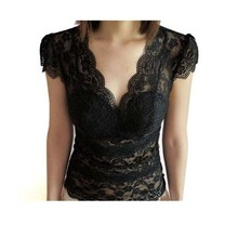 2019 Sexy vest women clothing short sleeve T shirt camisoles Pierced lace Hollow-out tank tops for ladies 2 styles