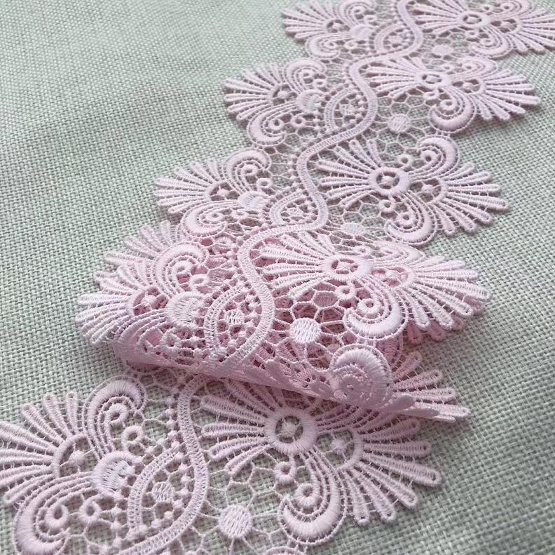 Vintage Narrow 13mm Lace Trim Peach Edging Doll Baby Craft Sewing 10 metre LOTS