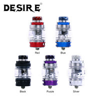 Original Desire Bulldog Subohm Tank 4.3ml with 0.18ohm Mesh Coil & 0.2ohm Triple Coil Push top Refill Design vs Desire Mad Dog