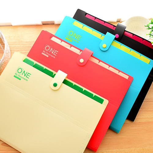 Office Supplies 8 Layers A4 Paper Note File Folder Document Holder Organizer