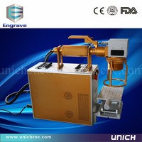 Most Popular CE Standard Fiber Laser Marking Machine For Sale