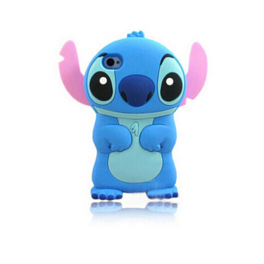 New Style Cute Cartoon Model Silicon Material Stitch 3d