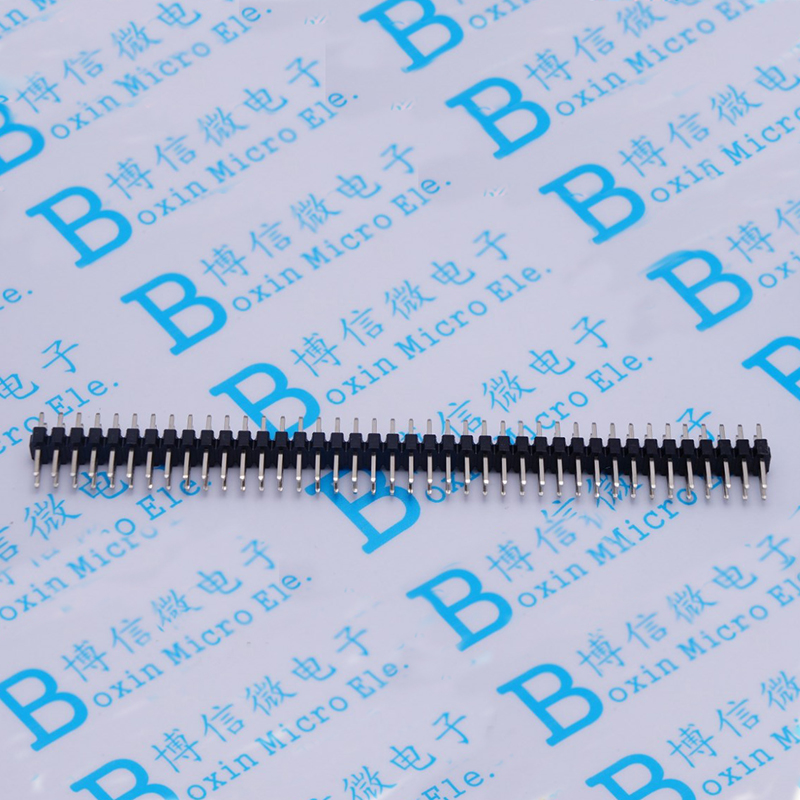 Copper-Plated Double-Row Pin <font><b>1.27</b></font> <font><b>MM</b></font> Pitch 2 * 50P image
