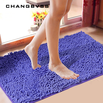 Cheap Floor Mat Bath Rug Kitchen Rug Door Way Feet Mat Anti-slip Strip Doormat Floor Rug Kitchen Carpet Bath Mat Free Shipping bohemian floral antiskid bath rug
