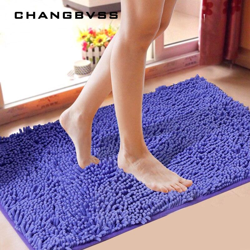 Günstige Boden Matte Bad Teppich Küche Teppich Tür Weg Füße Matte Anti-slip Streifen Fußmatte Boden Teppich Küche Teppich bad Matte Freies Verschiffen