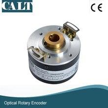 цена на CALT GHH60 15 mm hollow shaft push pull A B Z signal optical rotary encoder 500 1000 1024 2000 2500 ppr pulse