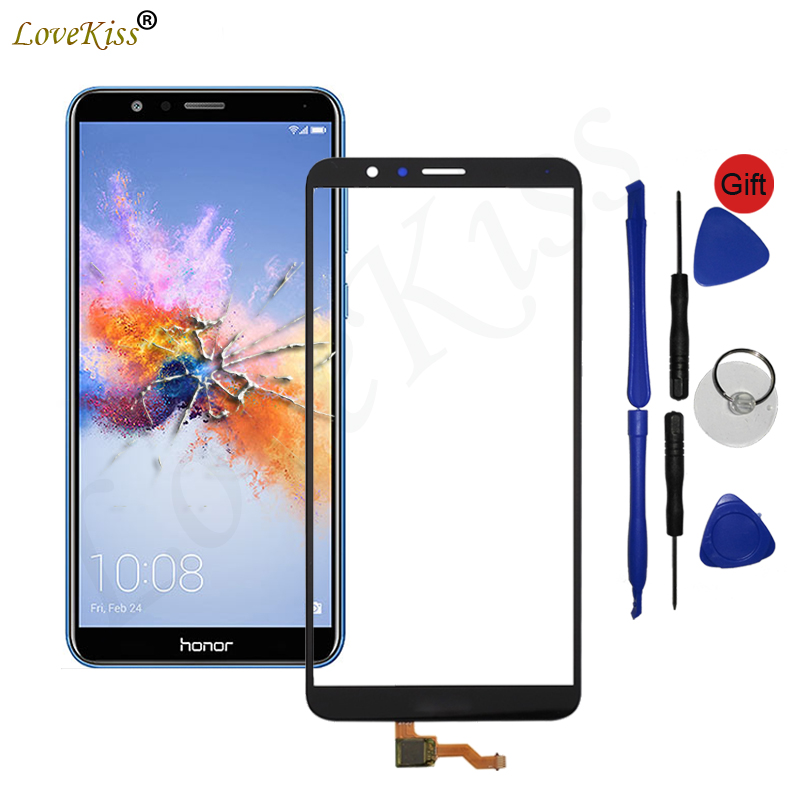 Honor7X Front Panel For Huawei Honor 7X BND-L21 BND-L24 Mate SE Touch  Screen Sensor 7X LCD Display Digitizer Glass Cover Repair