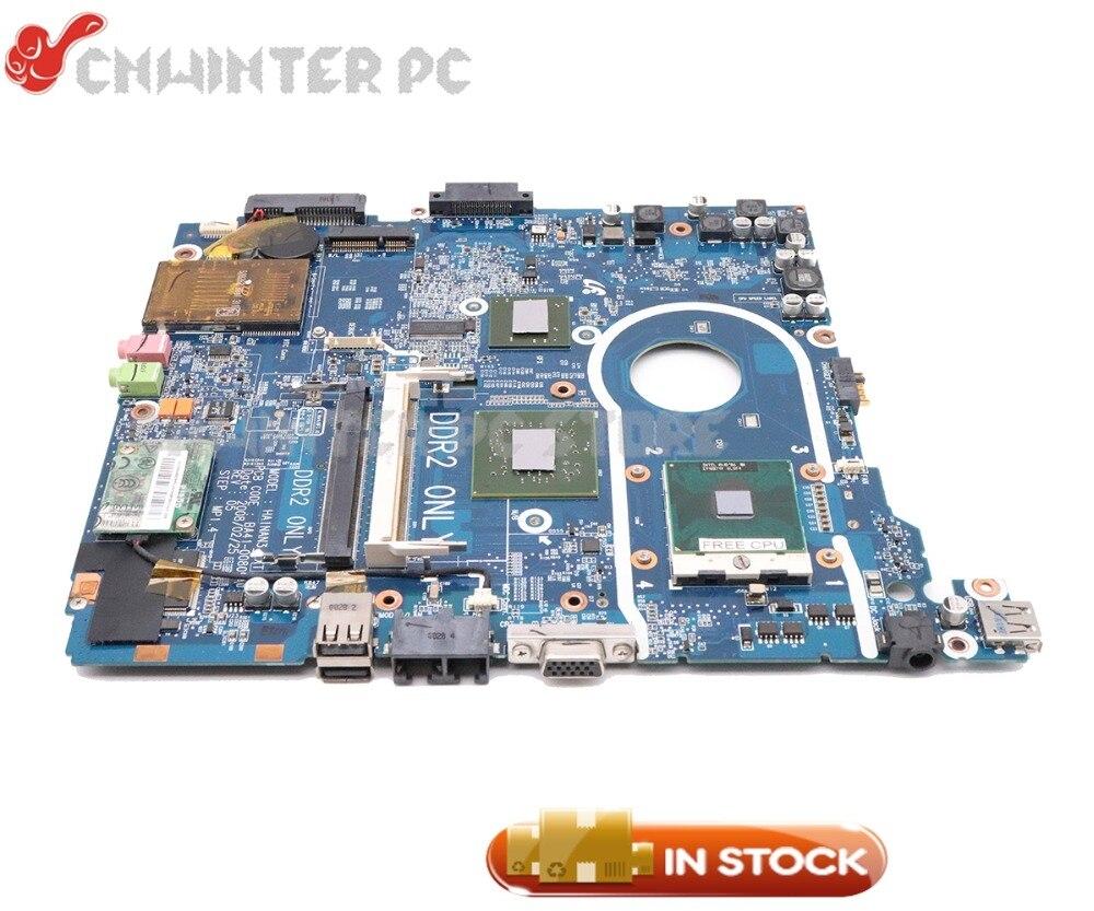 NOKOTION BA92-04641A BA41-00810A CARTE PRINCIPALE Pour Samsung NP-R20 R20 R25 Mère D'ordinateur Portable DDR2 Livraison cpu