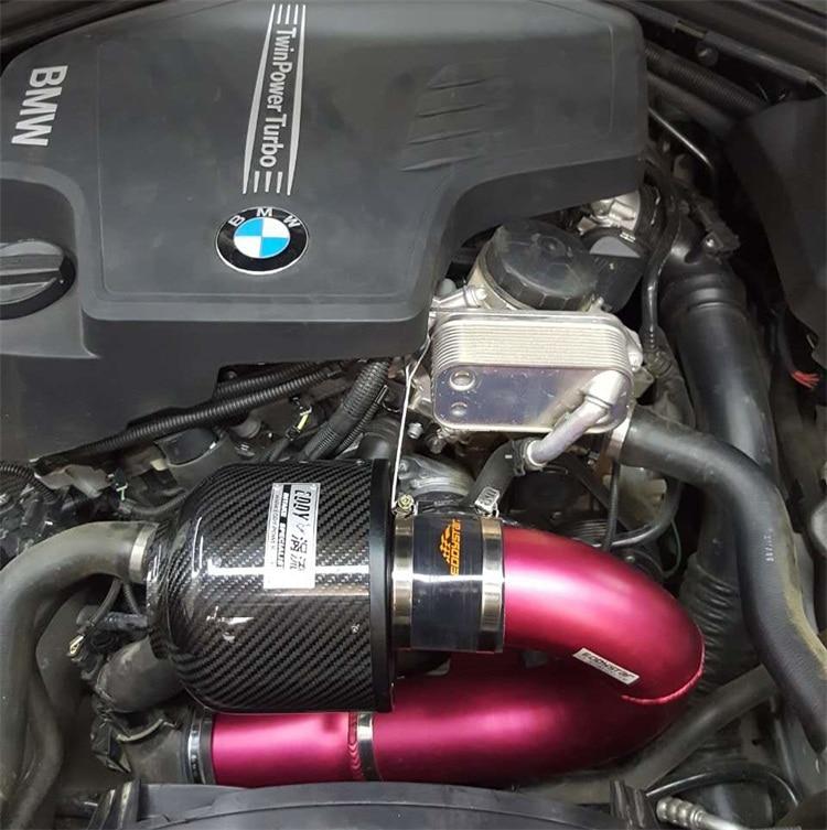Top Quality High Flow Power Up Intake Air Filter Carbon Fiber Filter Intake System For BMW F30F35 320i 328i 2013-2016 N20 Engine