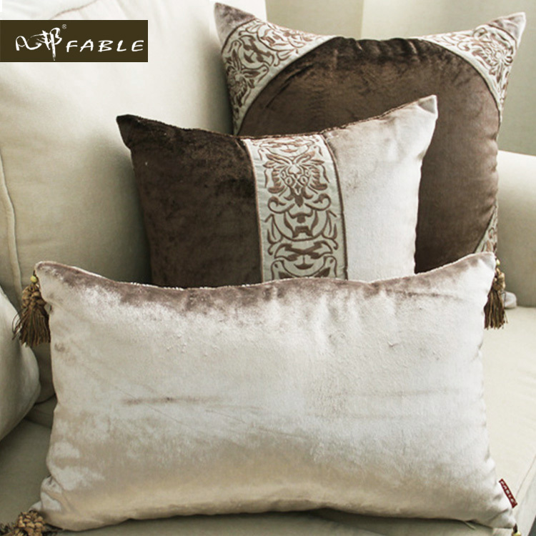Cushion covers for pillows picture more detailed picture about 2016 latest embroider design - Enhance your home decor with fancy cushions ...