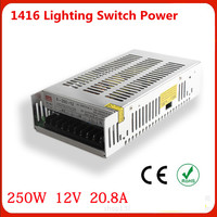 Manufacturers Selling Output 250W 12V 20 8A Switch Power S 250W 12v LED Drive High Power