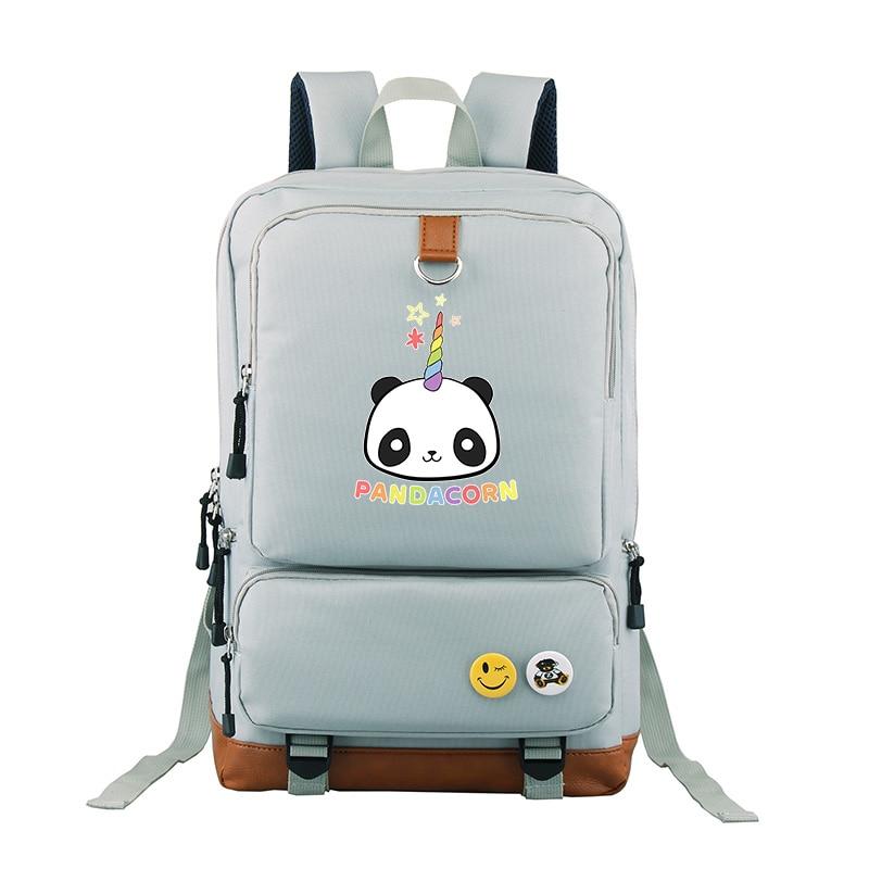 2018 del nuovo Anime Giapponese pandacorn borsa a tracolla viaggio zaino per le ragazze e ragazzi studenti borse zaino popolare2018 del nuovo Anime Giapponese pandacorn borsa a tracolla viaggio zaino per le ragazze e ragazzi studenti borse zaino popolare