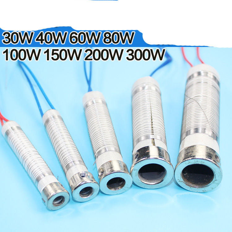 5pcs 220V/240V Welder Electric Soldering Iron Wired Heat Element Core Replacement 30W 40W 60W 80W 100W 150W