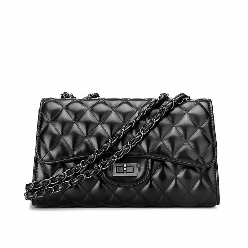 Namvitae Fashion Women Crossbody Bag Leather Quilted Bag Famous Brand  Design Ladies Messenger Bag Chain Women c54b92aeeb93b