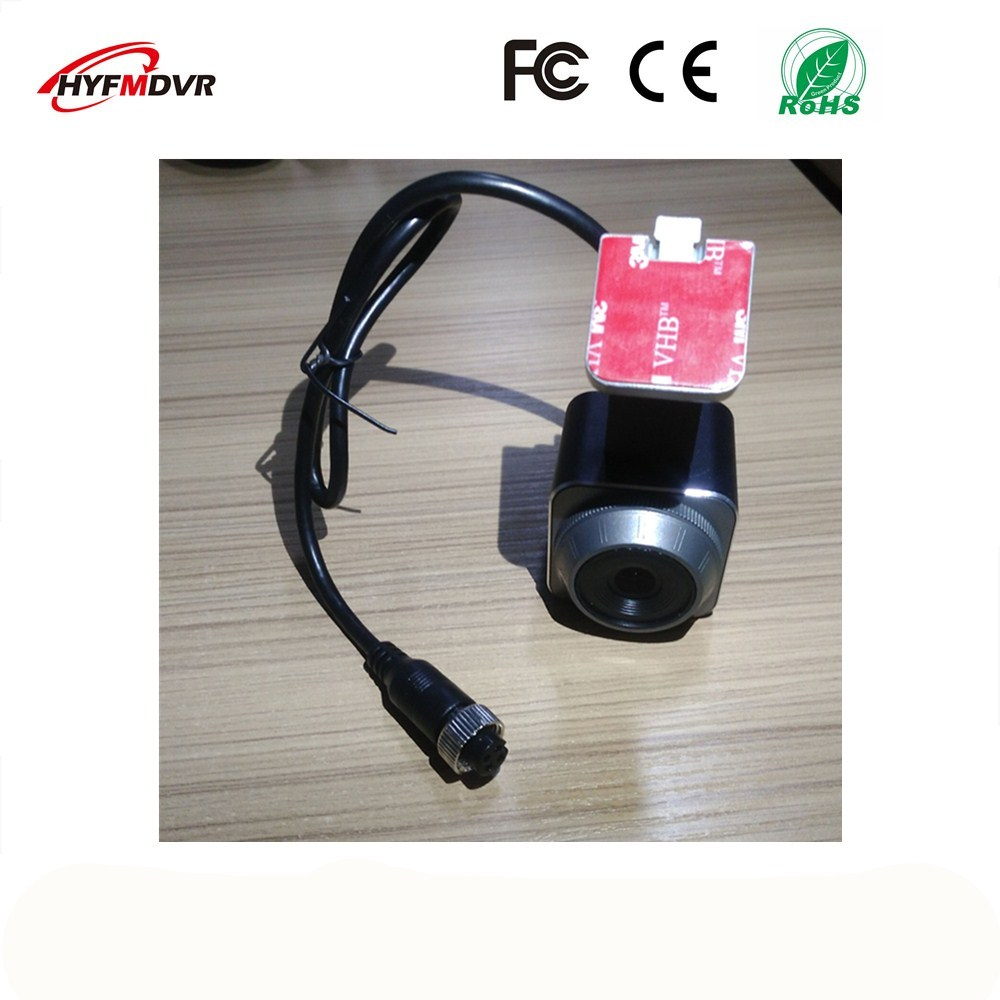 12V wide voltage forward looking camera 1080P/960P taxi 120 degree wide angle monitor head NTSC/PAL system