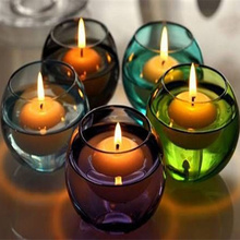 Hot Sale 100pcs Small Unscented Floating Candles for Wedding Party Home Decor Candles,red, white, pink, Free shipping.