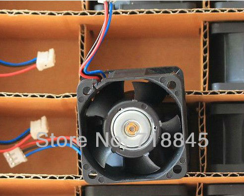 Купить с кэшбэком Delta 4 cm 4cm1U servers double ball-bearing fan 4028 FFB0412VHN 12V 0.24A