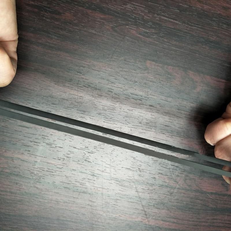 LEORY 1pcs Rubber Flat Turntable Belt High End Rubber Long Player Phonograph Belt For LP Replace Plattenspieler Belt