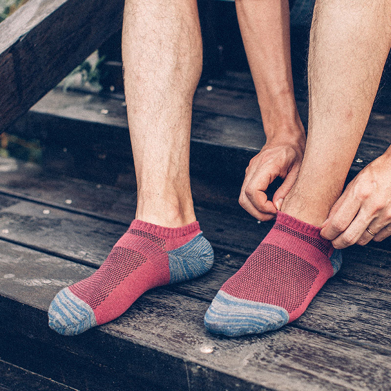 Brand Men Socks splice Cotton Casual boat Ankle Socks High Quality Sheer Male Short Sock Happy funny sox 17-148