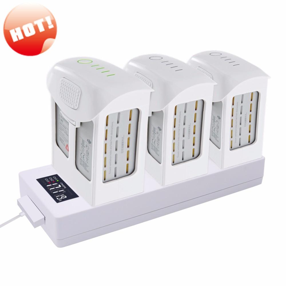 For DJI Phantom 4 Charger Battery Charging Hub Pro digital Charger Phantom Battery 4 into Power Bank for DJI Phantom 4
