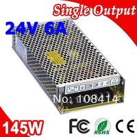 S 145 24 LED Switching Power Supply Transformer 145W 24V DC 6A Output