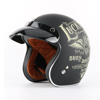 Hot Sale TORC Motorcycle Harley Helmet ABS Shell Vintage Moto Casque Open Face Retro 3 4