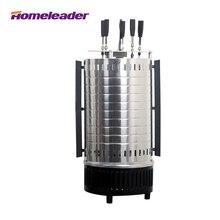 Homeleader Eléctrico Vertical Rotación BBQ Grill/Planchas, Rotary Máquina Asador Asadores con súper accesorio de seguridad