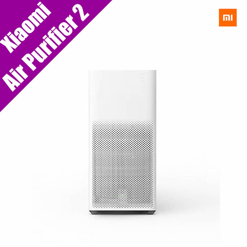 Original Xiaomi Air Purifier 2 Smoke Dust Peculiar Smell Cleaning MI Air Cleaner Smartphone Remote Control Household Appliances original xiaomi smart mi air purifier air cleaner