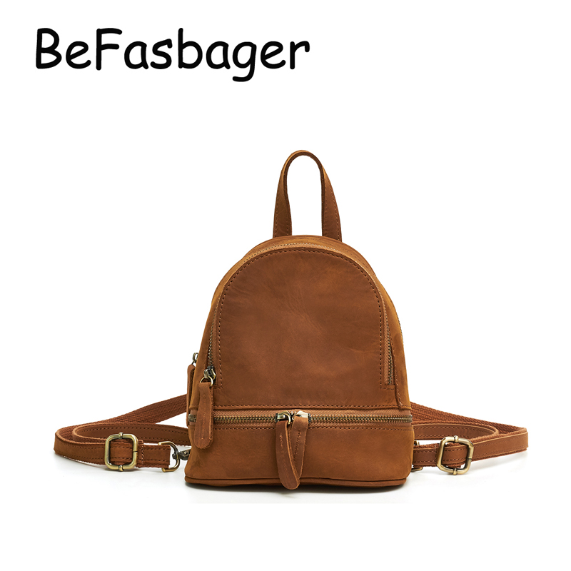 652fdf969abc BEFASBAGER Women Small Sling Bag Vintage Travel Back Pack Ladies ...