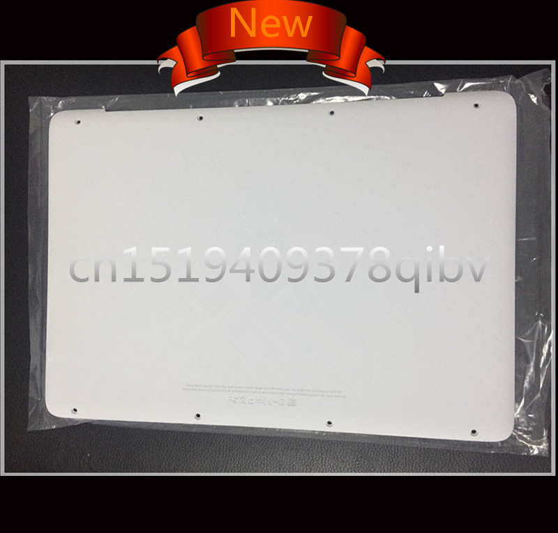 100% New 13 Laptop For MacBook A1342 MC207 MC516 LL/A 604-1033 Replace White Lower Bottom Case Cover 2009 2010 Years brand new bottom case for macbook pro 13 retina a1502 lower case cover 2015 604 02878 a