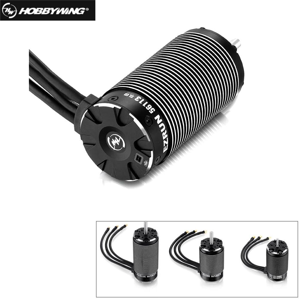 HobbyWing EZRUN 4985SL 1650KV /5687 1100KV/ 56113-800KV 3-8S 4-pole Sensorless Brushless Inner Motor For 1/5 1/6 1/7 RC Car