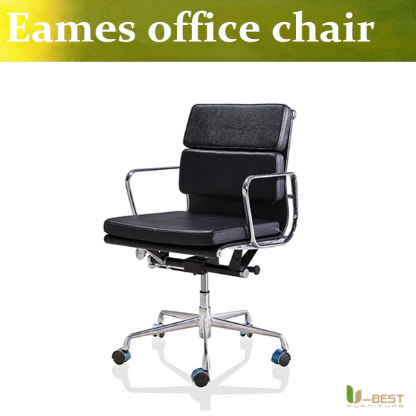 U-BEST Emes Aluminum Group Style Management Low Back  Soft Pad office Chair,designer swivel office furniture  in leather write on labeled group aluminum lockout hasp