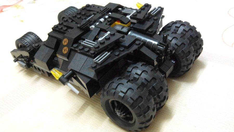 Decool Batman Tumbler Compatible Super Heroes Batman Batmobile Building Blocks DC Marvel Toys Gift