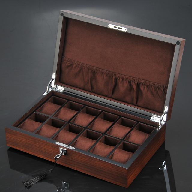 Luxury Twelve Slots Watch Cases