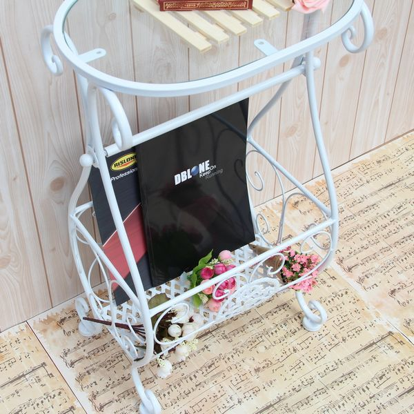 Free Shipping Limited Special Bathroom Racks Wrought Iron Towel Rack Magazine Stands Telephone New