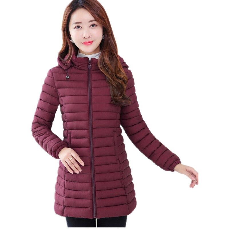 Winter Jacket Women 2017 Winter And Autumn Wear High Quality Parkas Winter Jackets Outwear Women Long