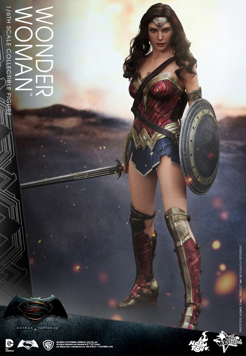 HT HOT TOYS HOTTOYS 1/6 MMS359 Batman Vs Superman Dawn of Justice Wonder Woman Gal Gadot 12 Collectible Action Figure Pre-order new hot 19 22cm justice league batman v superman dawn of justice wonder woman action figure toys collection christmas gift doll
