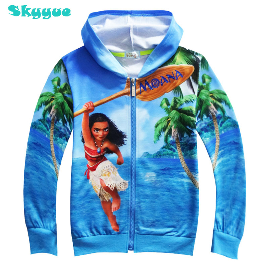 Zipper, Fashion, Autumn, Hoodies, Moana, Hoodie