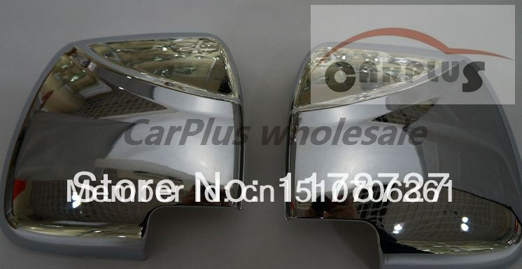 FREE SHIPING ABS Chrome  mirror  cover  for HIACE  2012 2013 2014 HIACE 200 MIRROR cover hiace morroe cover|mirror chrome cover|abs chromemirror cover chrome - title=