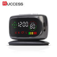 Ruccess Car Radar Detector Led Display GPS Radar Detector 360 Degree Laser Anti Radar Speed Detector