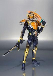 Image 3 - Original BANDAI SPIRITS S.H. Figuarts / SHF Action FIGURE Kamen Rider GAIM เกราะสีส้ม 20 Kamen Rider เตะ Ver.