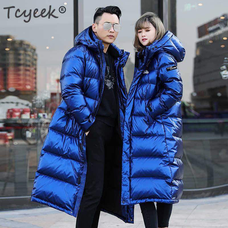 972598c10 Tcyeek Winter Jacket Women Down Coat Female Thick 90% White Duck ...