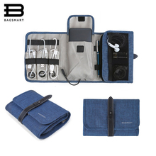 hot deal buy bagsmart hot sale usb cable charger tote case storage bag portable digital accessories gadget devices travel organizer bags