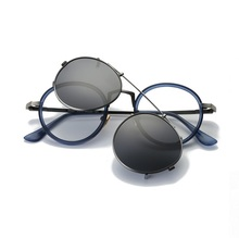 47-23-141 New ultra light tr metal material myopia polarized sunglasses can be equipped with myopia glasses Unisex 99021