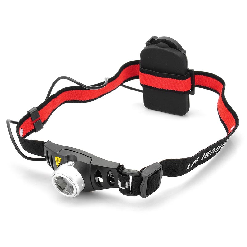 Zooming Q5 300LM 2-Mode 1-LED White Light mini Headlamp (3 x AAA/ 3.6-4.5V) Portable LED Headlight star 2