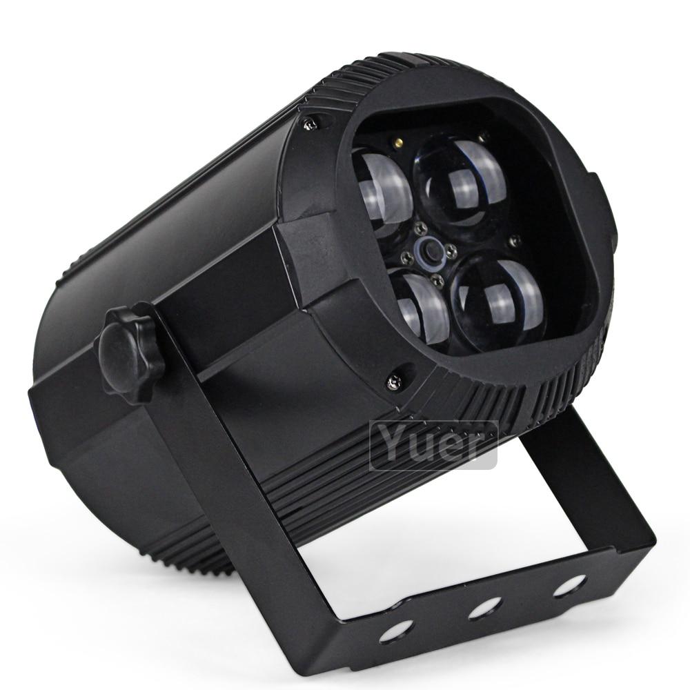 Nieuwe Zoom Par Licht 40W RGBW COB 4IN1 LED Podium Par Licht DMX512 Wassen Effect Voor Bar KTV Party bruiloft DJ Disco Par Licht - 4