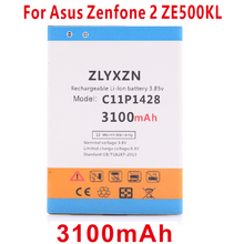 цена на ZLYXZN C11P1428 3100mAh Battery for Asus Zenfone 2 Zenfone2 Laser ZE500KL ZE500KG