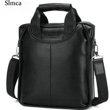 Slmca Marke Männer business casual männer handtasche Leder umhängetasche umhängetasche Männer Europa